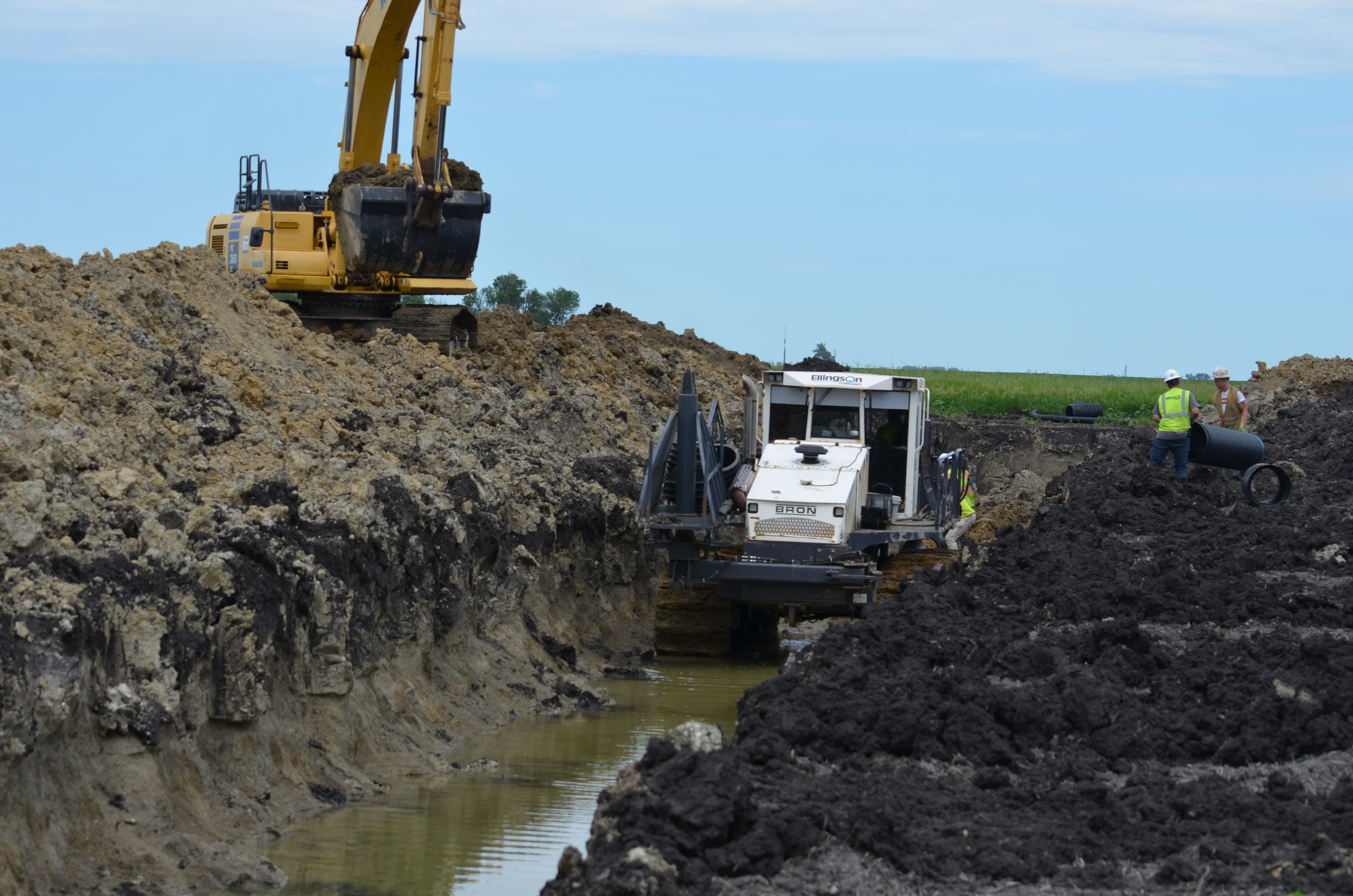Controlled Drainage in Walsh County, ND